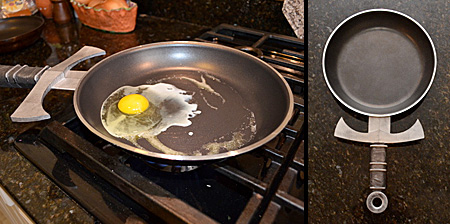 Frying Pan with Sword Handle