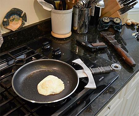 Sword Frying Pan