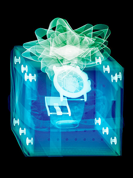 X-Ray of Christmas Presents