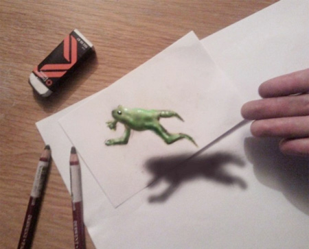 3D Illusion Drawings