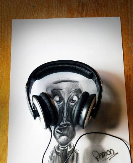 3D Airbrush Drawings