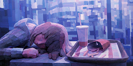 3D Paintings by Shintaro Ohata