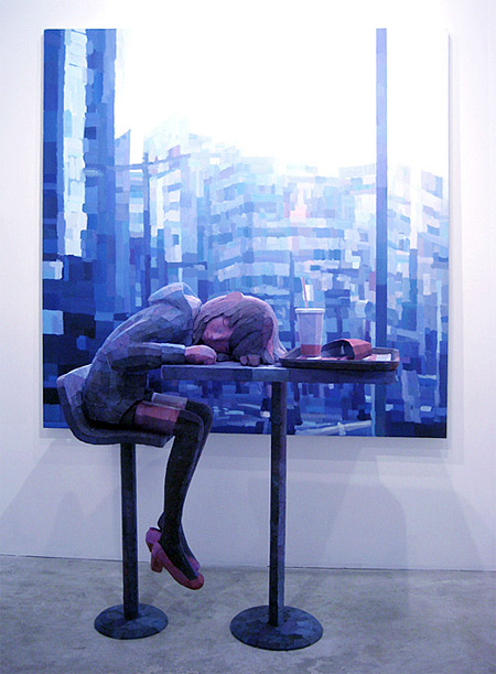3D Painting by Shintaro Ohata