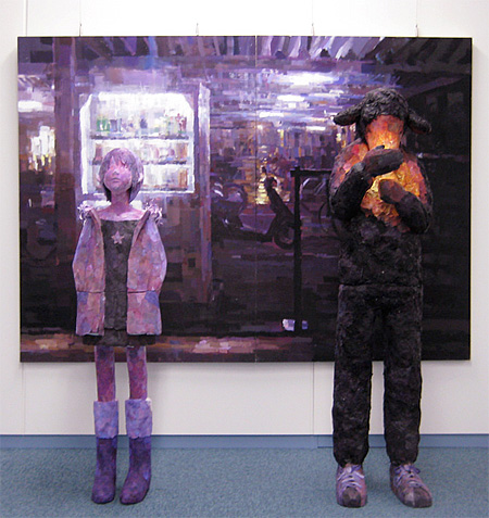 Paintings by Shintaro Ohata