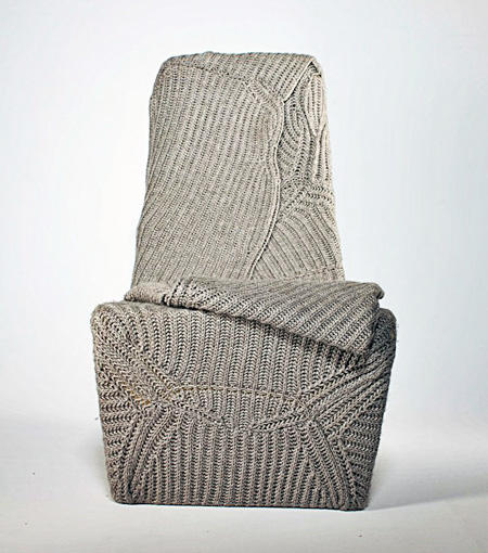Winter Chair by Aga Brzostek