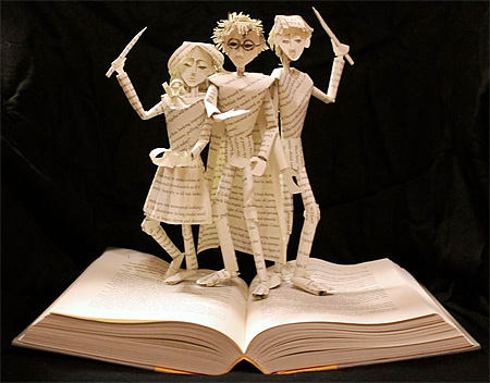Harry Potter Book Art