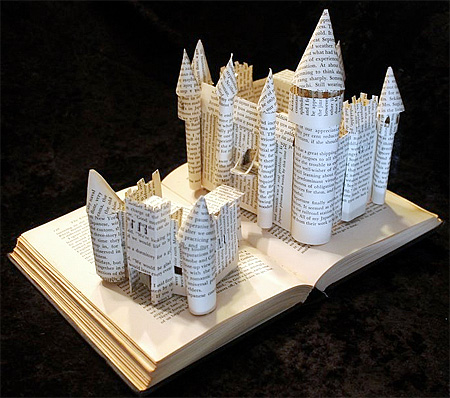Book Sculptures by Jodi Harvey-Brown