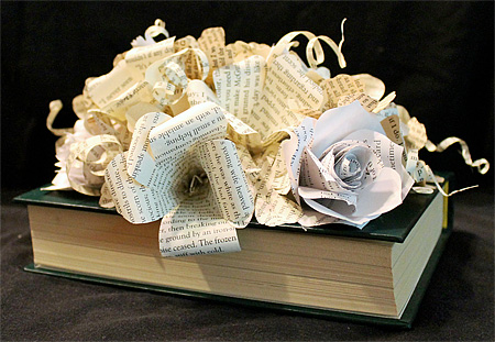 Book Carving by Jodi Harvey-Brown