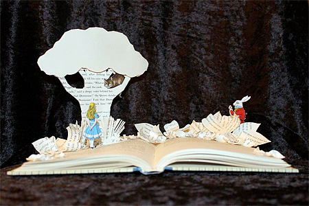 Pop Up Book Art by Jodi Harvey-Brown