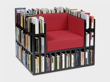 Book Storage Chair