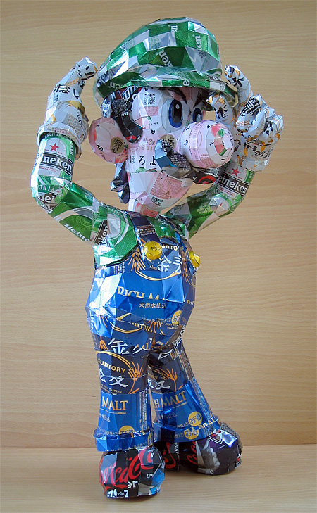 Cans Sculpture