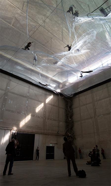 Cloud Art Installation