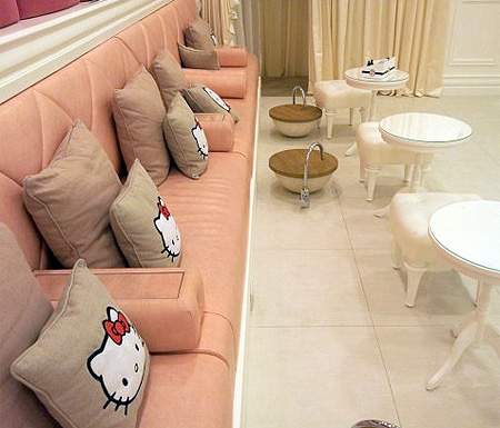 Hello Kitty Beauty Spa in Dubai