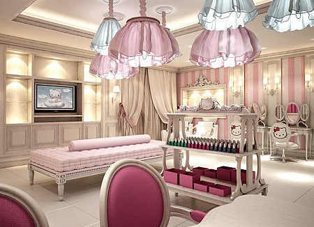 Worlds First Hello Kitty Beauty Spa