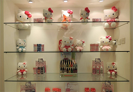 Hello Kitty Inspired Beauty Spa