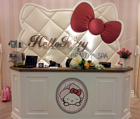 Spa for Hello Kitty Fans