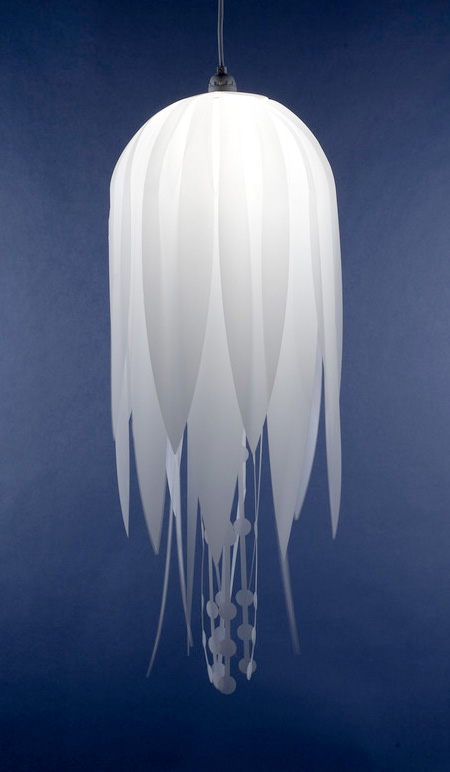 Jellyfish Lamp by Roxy Russell