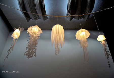 Jelly Fish Lamp