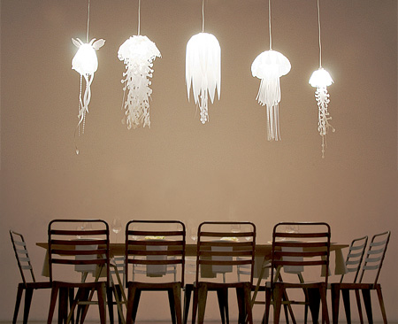 Jelly Fish Lamps