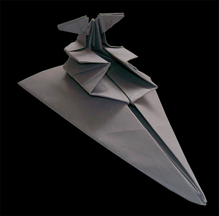 Star Destroyer Origami