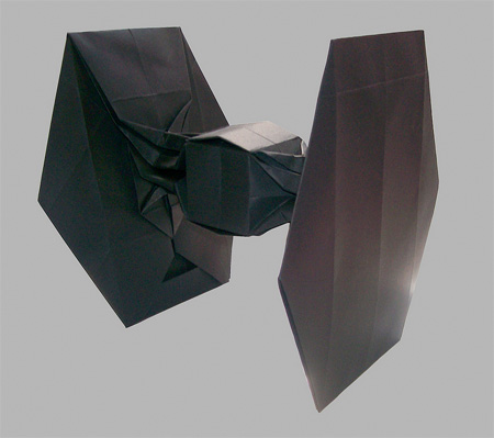 TIE Fighter Origami