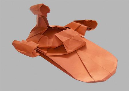 Land Speeder Origami