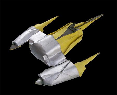 Naboo Starfighter Origami