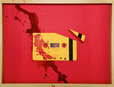 Cassette Tape Art By Benoit Jammes