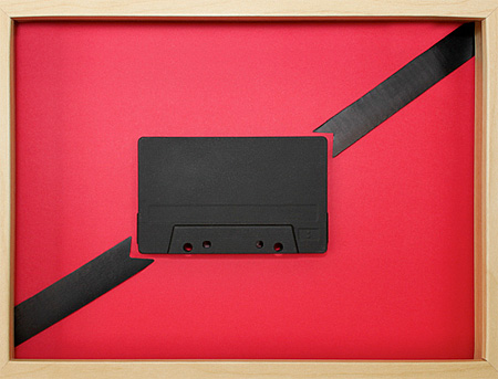 Cassette Tape Painting