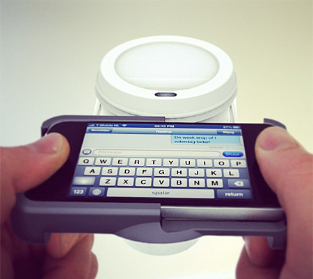 iPhone Cupholder
