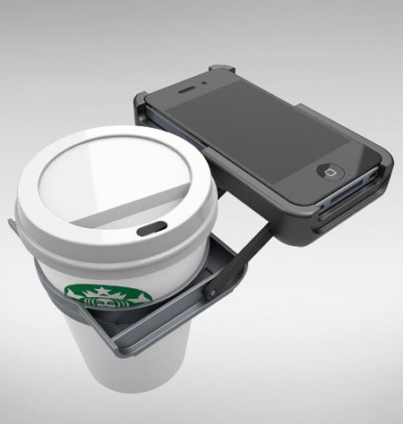iPhone Cup Holder Case