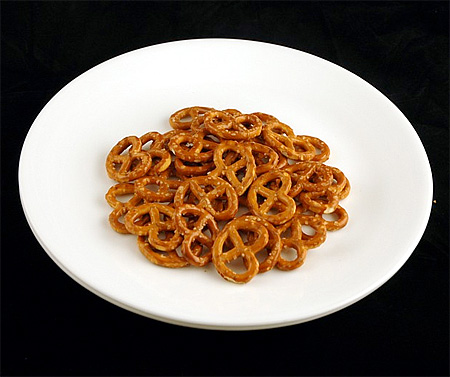 Salted Pretzels Calories
