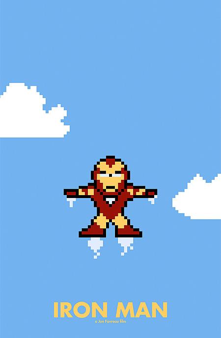 8 Bit Iron Man