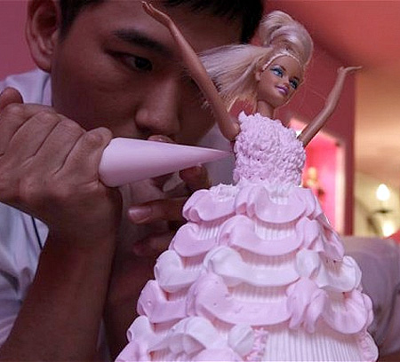 Barbie Restaurant in Taiwan