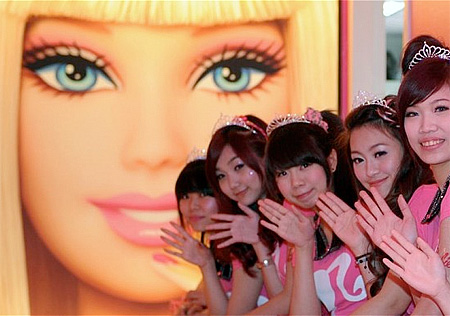 Barbie Cafe in Taipei