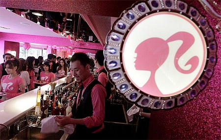 Barbie Restaurant in Taipei
