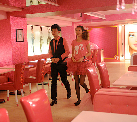 Barbie Themed Cafe