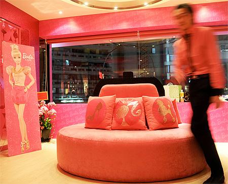 Barbie Themed Restaurant