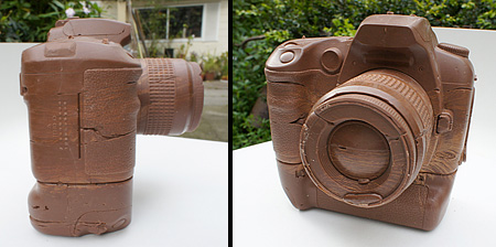 Camera Made of Chocolate