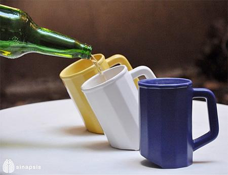 Tilted Mug