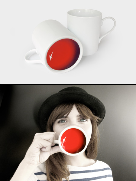 Clown Nose Mug