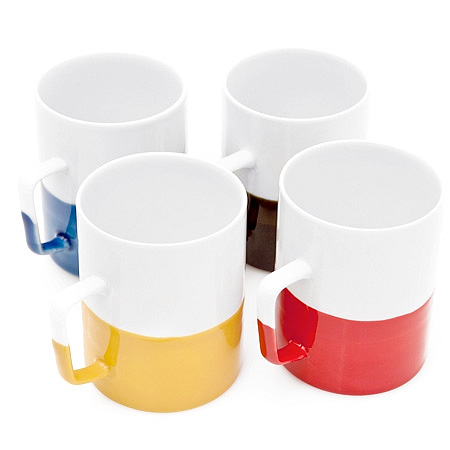 Color Dipped Mug