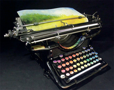 Colour Typewriter