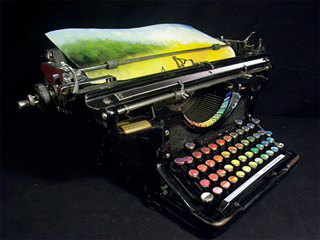 Typewriter Paints