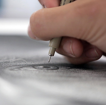 Dots Drawings