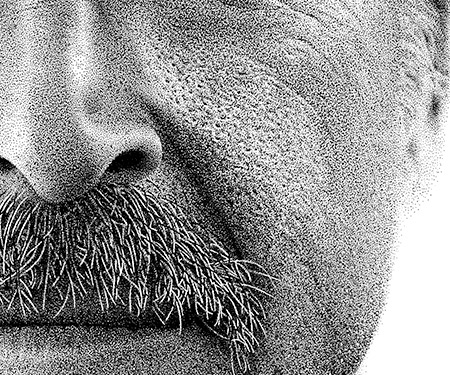 Million Ink Dots Drawing