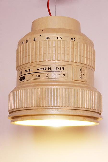 DSLR Camera Lens Lamp