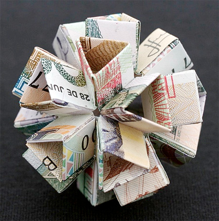 Currency Sculptures