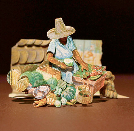 Money Sculpture by Kristi Malakoff