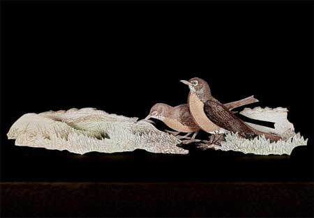 Dollar Sculptures by Kristi Malakoff